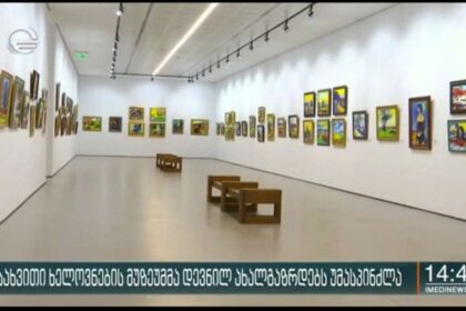ქართული სახვითი ხელოვნების მუზეუმმა დევნილ ახალგაზრდებს უმასპინძლა
